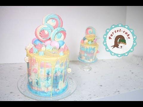 Drip Cake Pastell Von Purzel