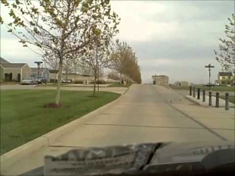 A Drive Through New Town in St Charles, MO