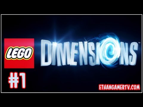 Let's Play the LEGO Dimensions Video Game #1 | Kid-friendly