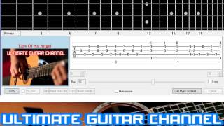 [Guitar Solo Tab] Lips Of An Angel (Hinder)