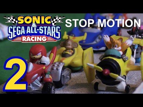 Sonic and Sega All Stars Stop Motion (pt. 2)