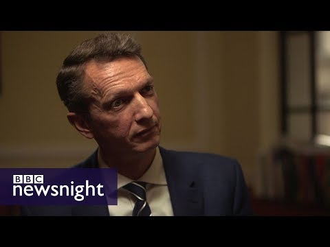 Chief economist Andy Haldane on diversity at the Bank of England - BBC Newsnight