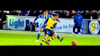 Mesut Ozil Vs Brighton 25/1/15 HD