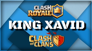 King Xavid - Clash Royale & Clash of Clans - New Channel Trailer