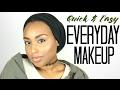 QUICK EVERYDAY MAKEUP ROUTINE!  *no foundation* | Aysha Abdul