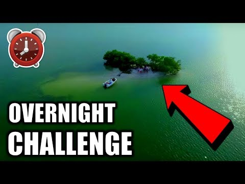 OVERNIGHT CHALLENGE ON ISLAND!! (Ft. JOOGSQUAD)