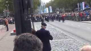 16 14 38 De Kapel van de Koninklijke Luchtmacht 60e editie Taptoe 6e Rotterrdam streetparade vr 26 0