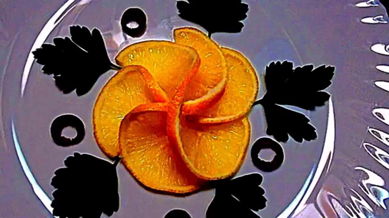розочка из лимона
