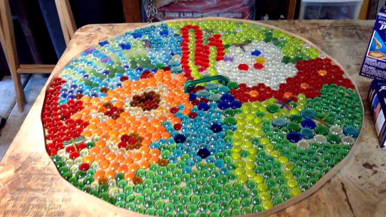 Our Quiet Corner   DIY   Mosaic Table Top   Theresa Snyder