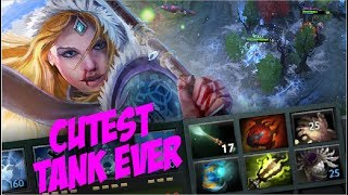 CUTEST TANK EVER - Crystal Maiden Tank Build with Tarras+Blade Mail by Waga - Dota 2