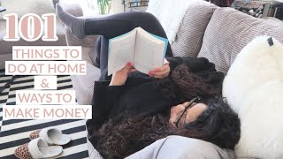 101 Things To Do When Self Isolating, Social Distancing & Bored At Home / Nishi V