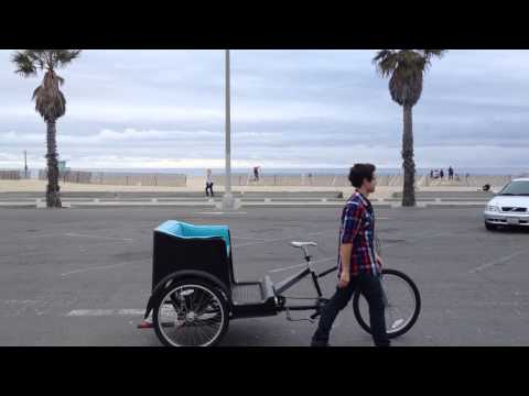 Pedicab Tricks Santa Monica Bike Taxi