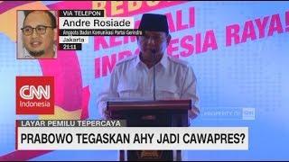 Gerindra Bantah Klaim Kepastian Duet Prabowo - AHY di Pilpres