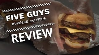 FIVE GUYS - DRUNK REVIEW