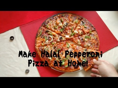 Making Pepperoni Pizza At Home