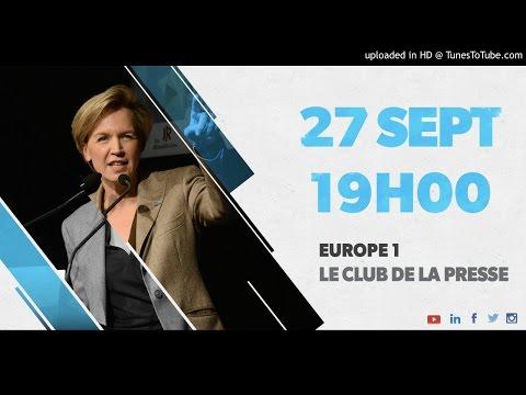 Europe 1 - Le Club de la Presse - 27/09/16