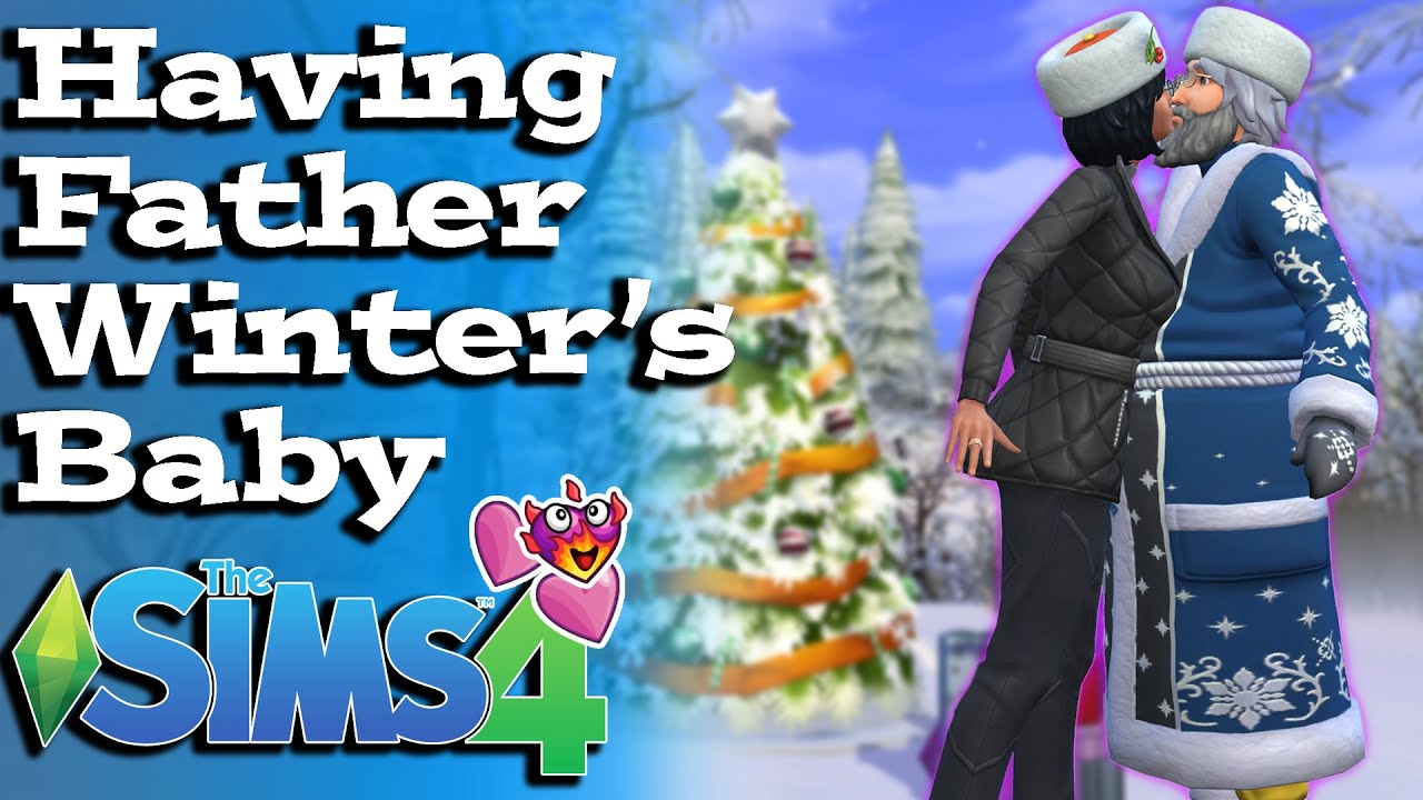 Sims 4 Seasons: Try for Baby with Father Winter