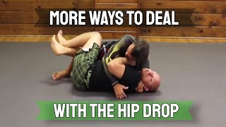 More Ways To Deal With Hip Drop In Half Guard by Jason Scully