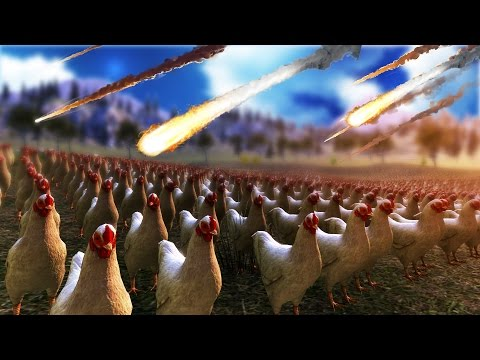50,000 CHICKENS VS. NUCLEAR BOMB | Ultimate Epic Battle Simulator #3
