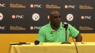 Steelers RB coach James Saxon on James Conner
