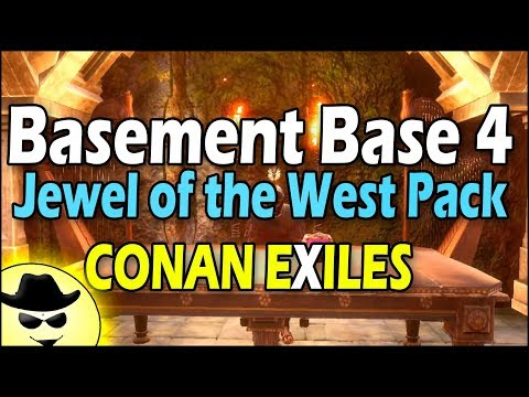 Basement Base 4 - Jewel of the West Pack - Conan Exiles