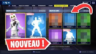MARSHMELLO SKIN! FORTNITE BOUTIQUE of February 1, 2019! ITEM SHOP