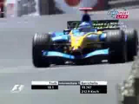 F1 Monaco 2004 Jarno Trulli Renault R24