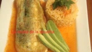 Calabazas rellenas de queso capeadas con huevo - La receta de la abuelita