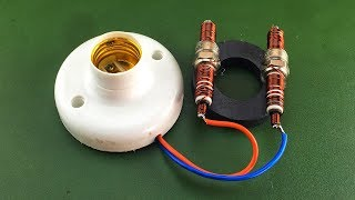 Make free energy with magnet coil new diy science experiment
