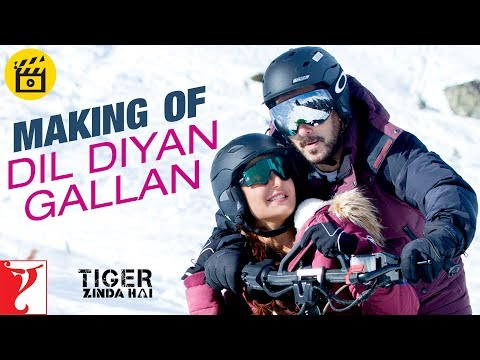 Making of Dil Diyan Gallan Song | Tiger...
