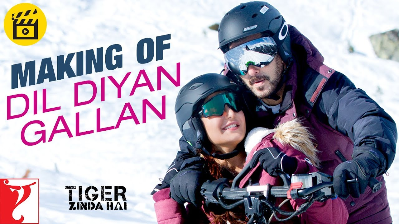 Download Making of Dil Diyan Gallan Song   Tiger Zinda Hai   Salman Khan, Katrina Kaif   Atif Aslam