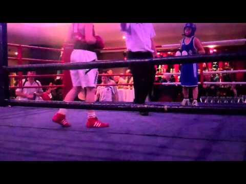 Gradus ''The little Hurricane'' Kraus vs Aaron Walsh Boxing in Ireland