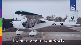 The Foxbat Antipoaching Aircraft | MyPlanet Rhino Fund