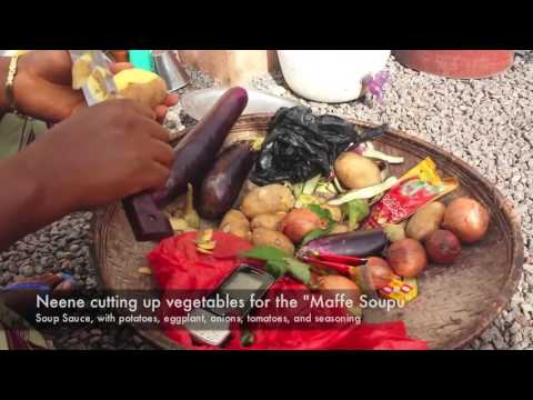 Cooking in Guinea