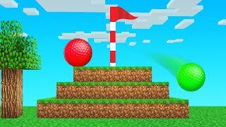 MINECRAFT But It Is GOLF!?