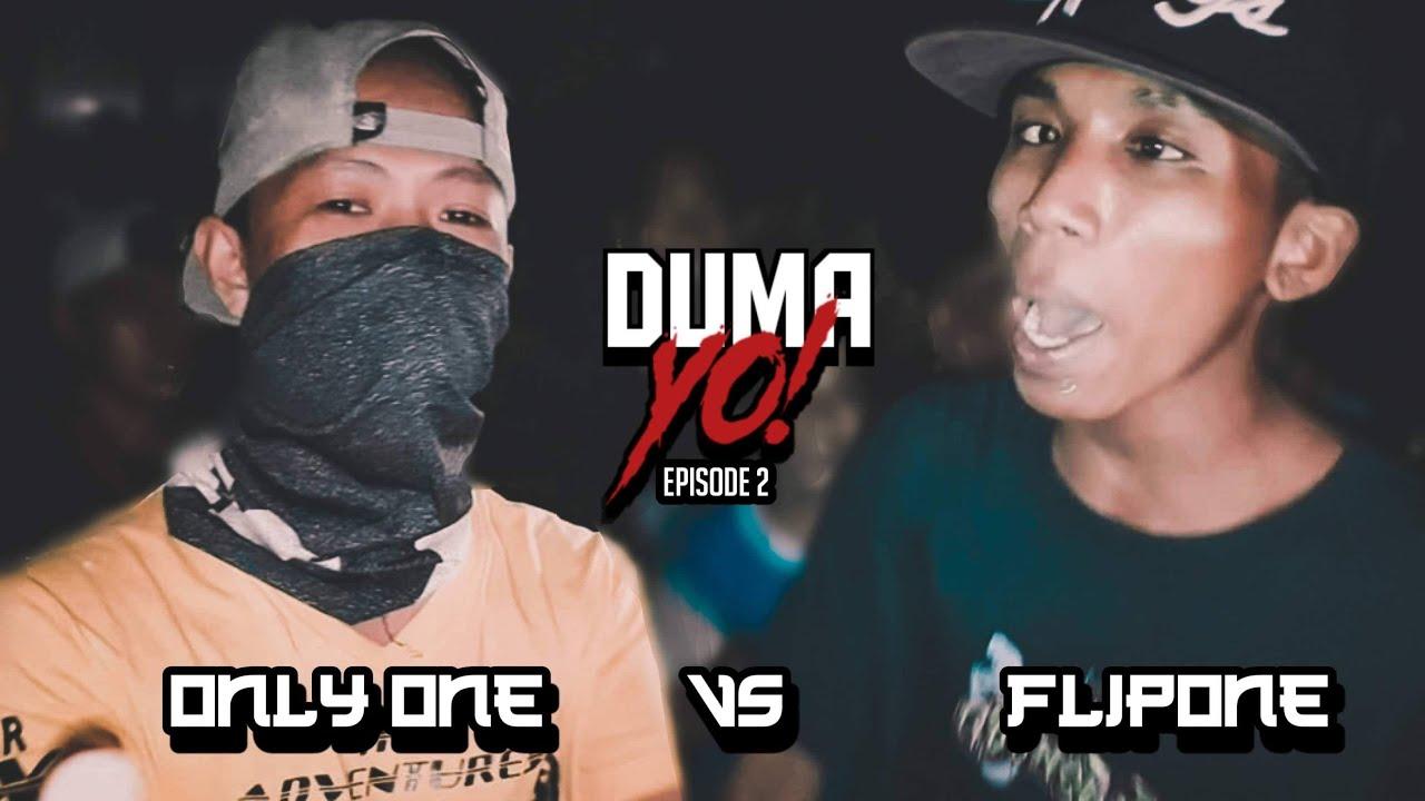 Laglagan Rap Battle League - OnLy One Vs Flip One ( DUMA-YO! EPISODE 2 )