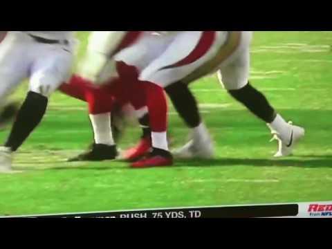 David Johnson Suffers Gruesome Leg injury Career Ending Injury  😖 ( NFL Injuries )
