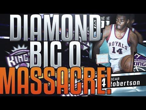 NBA 2K17 MYTEAM DIAMOND OSCAR ROBERTSON GAMEPLAY! BEST CARD IN THE GAME!?