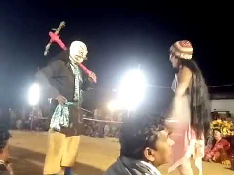 Purulia chhou Dance 2018 special comedy...