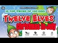 Full book of Twelve Elves contest. Not the entry video. part 1. Threes in the morning.