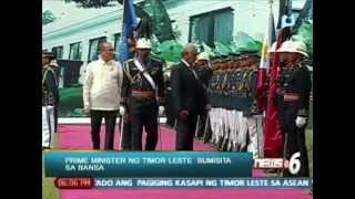 News@6: Prime Minister Kay Rala Xanana Gusmao ng Timor Leste bumisita sa bansa