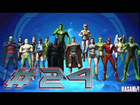 Justice League Heroes PSP Walkthrough Part 24 EXTRAS