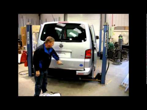 Atg T5 And Berlingo Automatic Tailgate Youtube