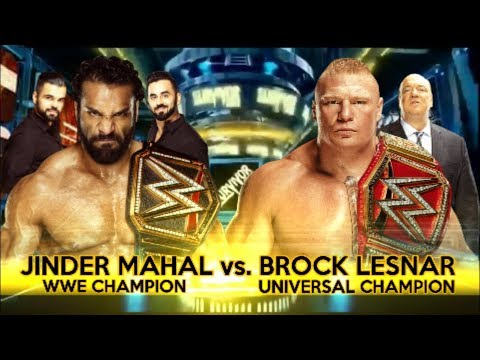 Jinder Mahal vs. AJ Styles WWE title match set for SmackDown