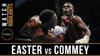 Easter vs Commey HIGHLIGHTS: September 9, 2016  - PBC on Spike