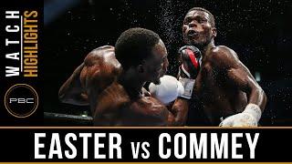 Easter vs Commey HIGHLIGHTS: September 9, 2016  - PBC on Spike