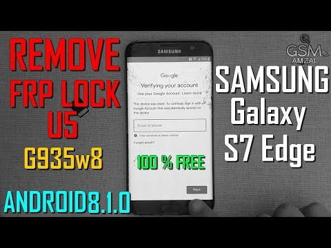 Samsung Galaxy S7 Edge G935 U5 Remove FRP Without PC 100