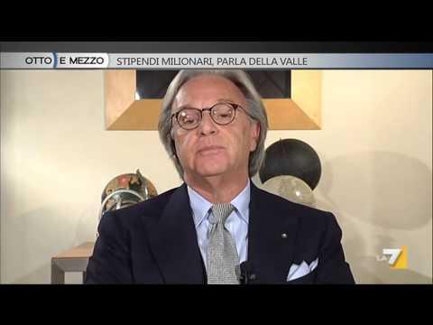 Otto e mezzo - Otto e mezzo - Stipendi milionari, parla Della Valle (Puntata 25/03/2014)