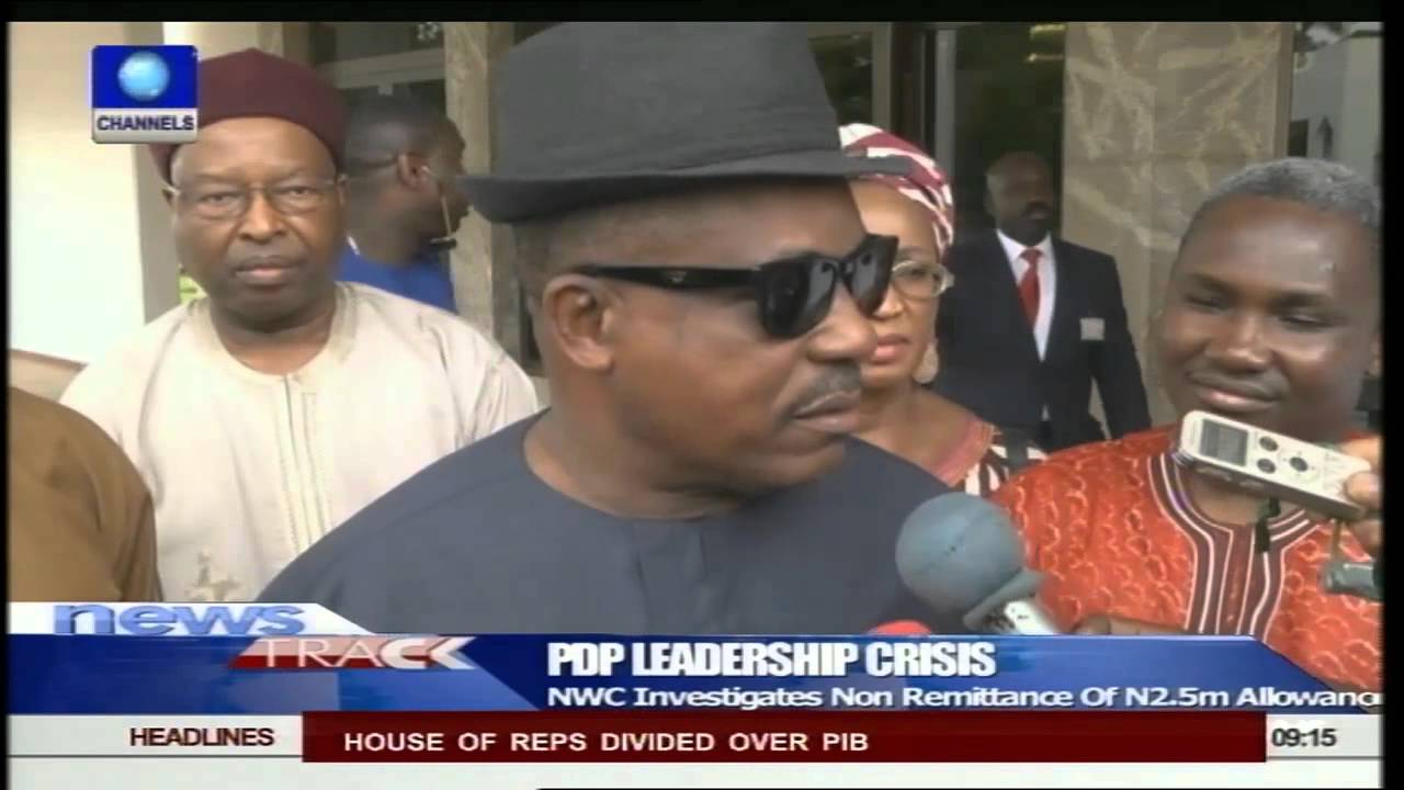 uche secondus rules out resignation of other pdp nwc members  uche secondus rules out resignation of other pdp nwc members 22 05 15