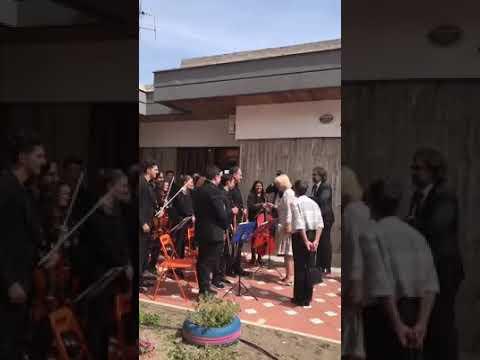 L'Orchestra Sanitansamble e Sua Altezza Reale Camilla